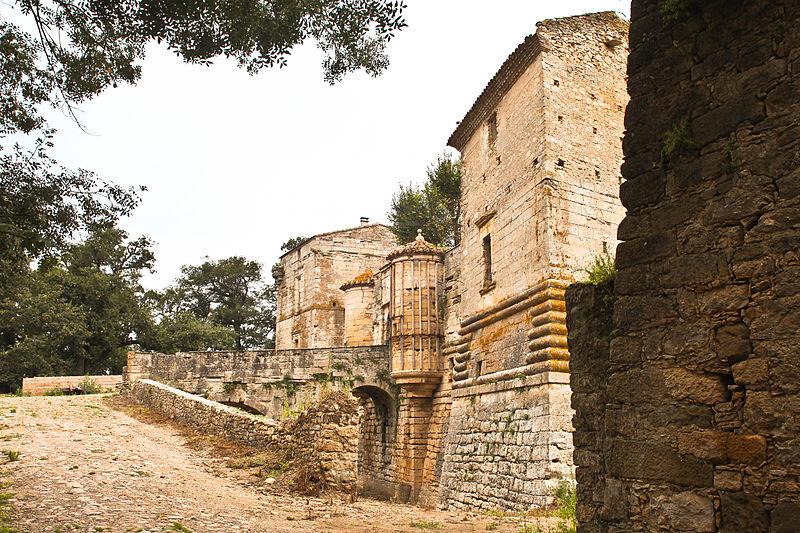 Photo du Monument Historique Château de Ferrals situé à Saint-Papoul
