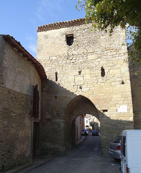 Photo du Monument Historique Porte dite de l'Est situé à Saint-Papoul