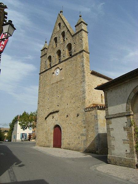 Photo du Monument Historique Eglise paroissiale Saint-Mathieu situé à Salles-sur-l'Hers