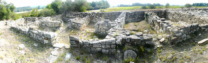 Photo du Monument Historique Vestiges de l'oppidum de Pech de Maho situé à Sigean