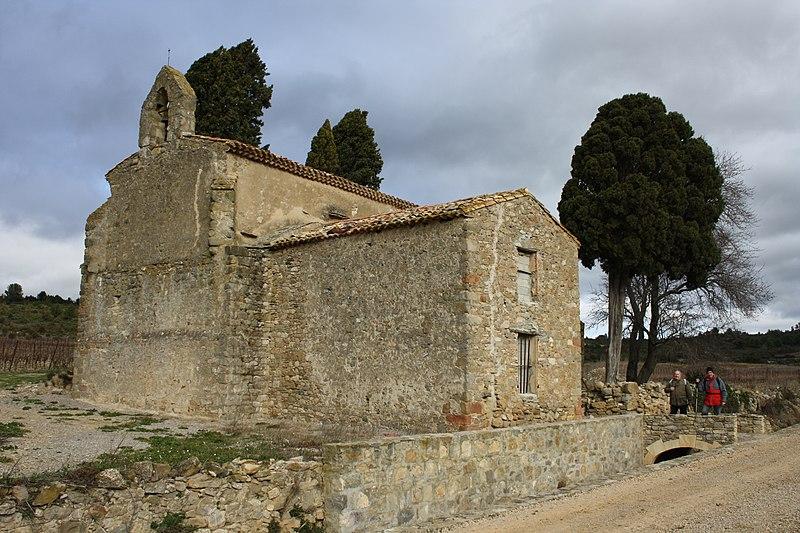 Photo du Monument Historique Chapelle Notre-Dame-de-l'Aire et ses abords situé à Talairan