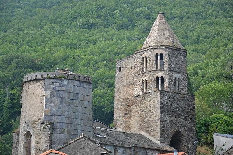 Photo du Monument Historique Eglise Sainte-Anne, située dans le village situé à La Tourette-Cabardès
