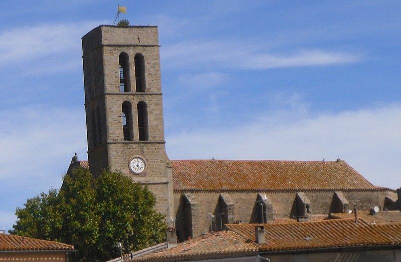 Photo du Monument Historique Eglise Saint-Etienne situé à Trèbes
