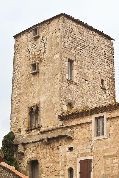 Photo du Monument Historique Château de l'Abbé situé à Ventenac-Cabardès