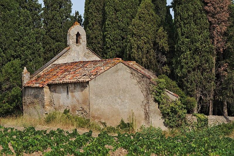 Photo du Monument Historique Chapelle de Gléon situé à Villesèque-des-Corbières