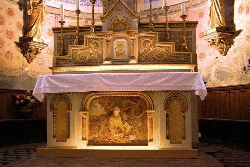 Photo du Monument Historique Eglise Sainte-Marie-Madeleine situé à Rennes-le-Château