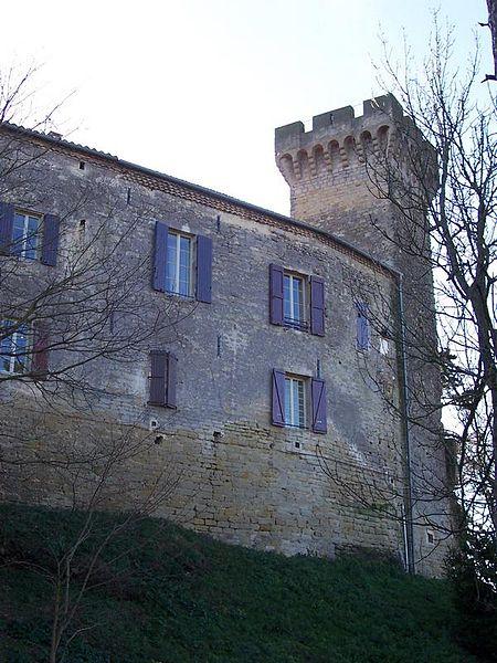 Photo du Monument Historique Château situé à La Pomarède