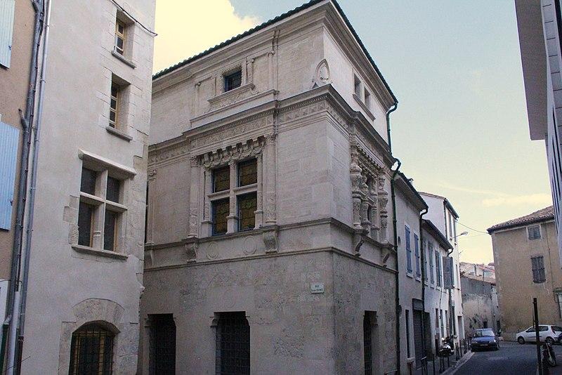 Photo du Monument Historique Maison dite des Trois Nourrices situé à Narbonne