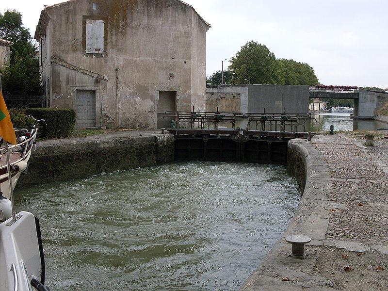 Photo du Monument Historique Canal du Midi situé à Castelnaudary