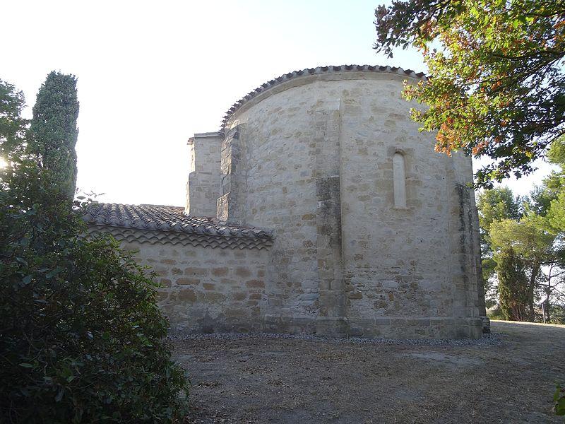 Photo du Monument Historique Chapelle Saint-Martin de la Salle, au hameau de Besplas situé à Villasavary