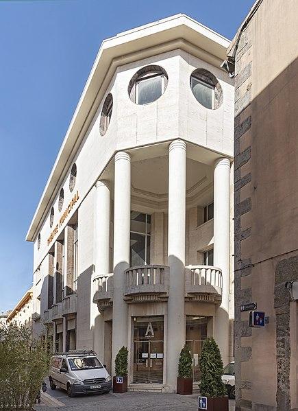 Photo du Monument Historique Théâtre municipal situé à Carcassonne
