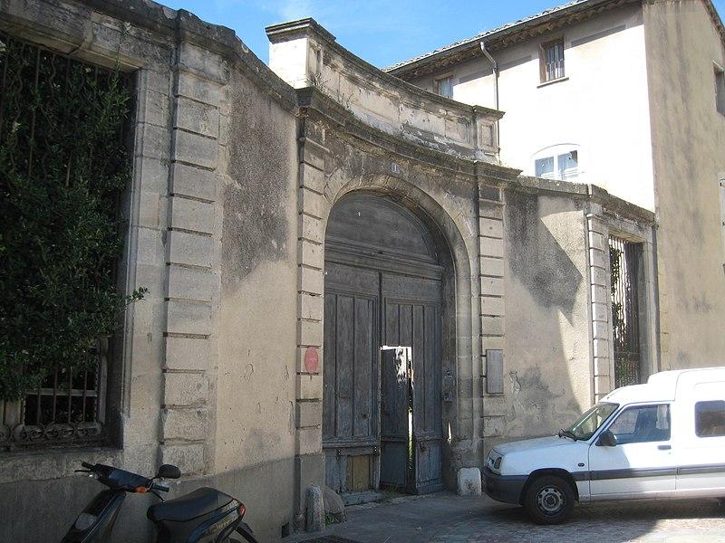 Photo du Monument Historique Ancienne sous-préfecture situé à Narbonne