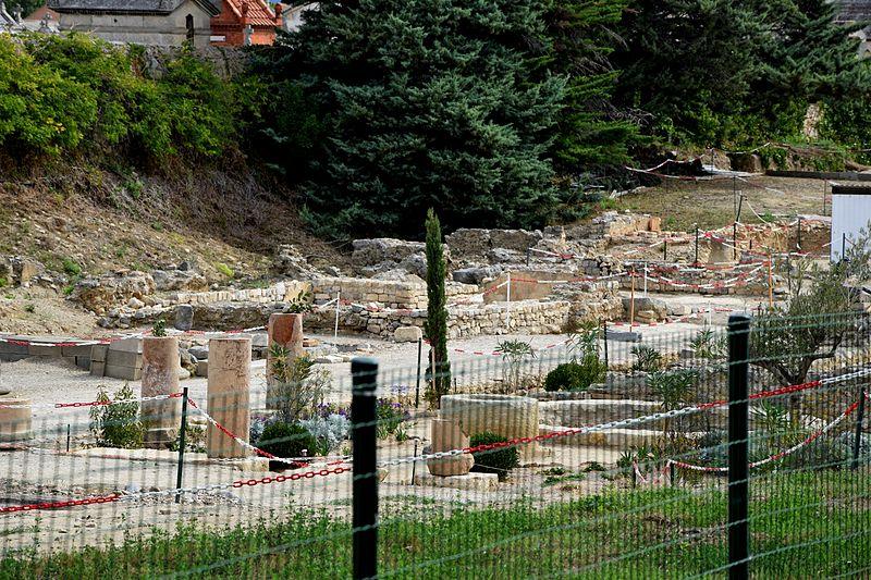 Photo du Monument Historique Vestiges archéologiques du Clos de la Lombarde situé à Narbonne