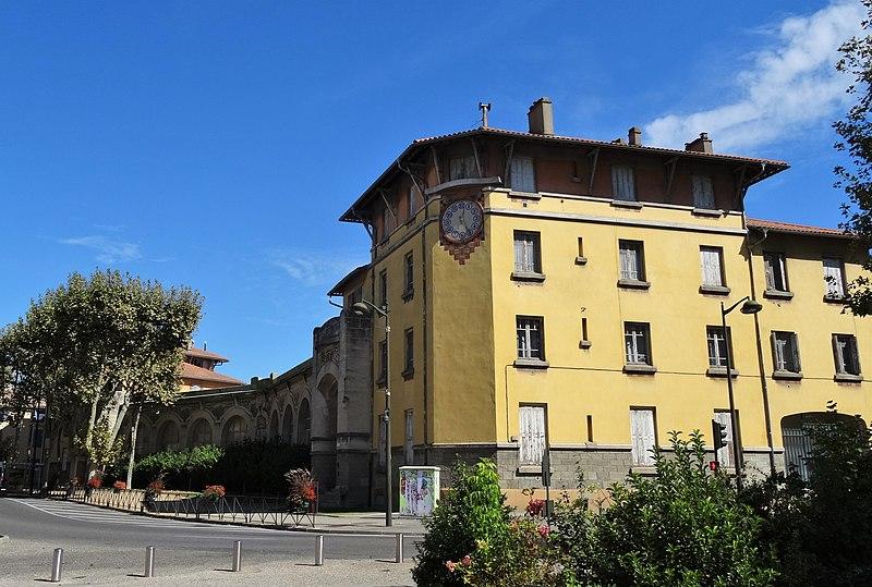 Photo du Monument Historique Groupe scolaire Jean Jaurès situé à Carcassonne