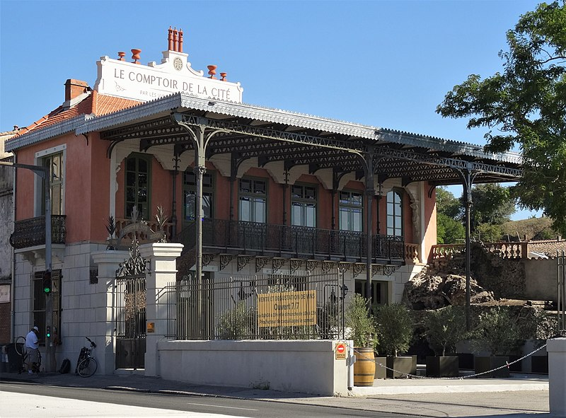 Photo du Monument Historique Ancien palais de la Micheline dit La Belle Epoque situé à Carcassonne