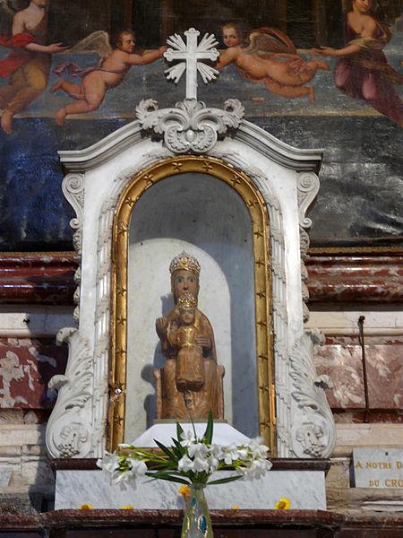 Photo du Monument Historique Église Notre-Dame du Cros situé à Caunes-Minervois