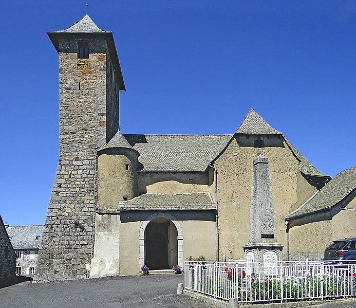 Photo du Monument Historique Eglise Saint-Martin situé à Alpuech
