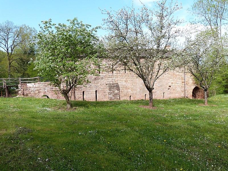 Photo du Monument Historique Ruines de l'ancien prieuré du Sauvage situé à Balsac