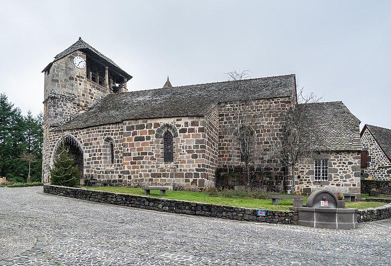 Photo du Monument Historique Eglise situé à Brommat
