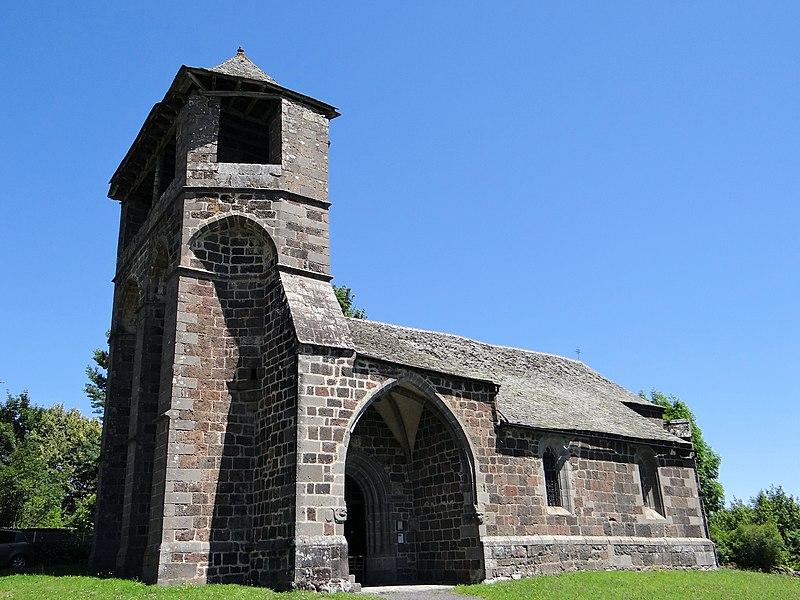 Photo du Monument Historique Eglise d'Albinhac situé à Brommat