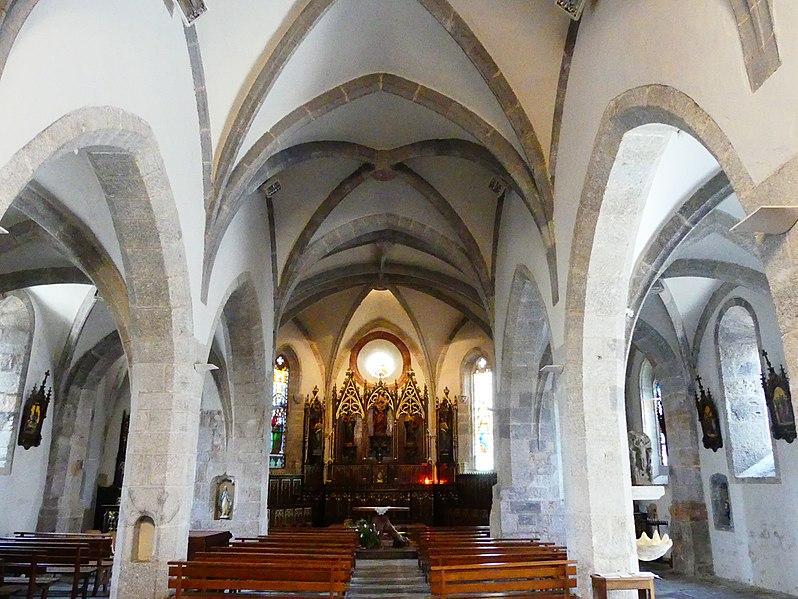 Photo du Monument Historique Eglise situé à Cassuéjouls