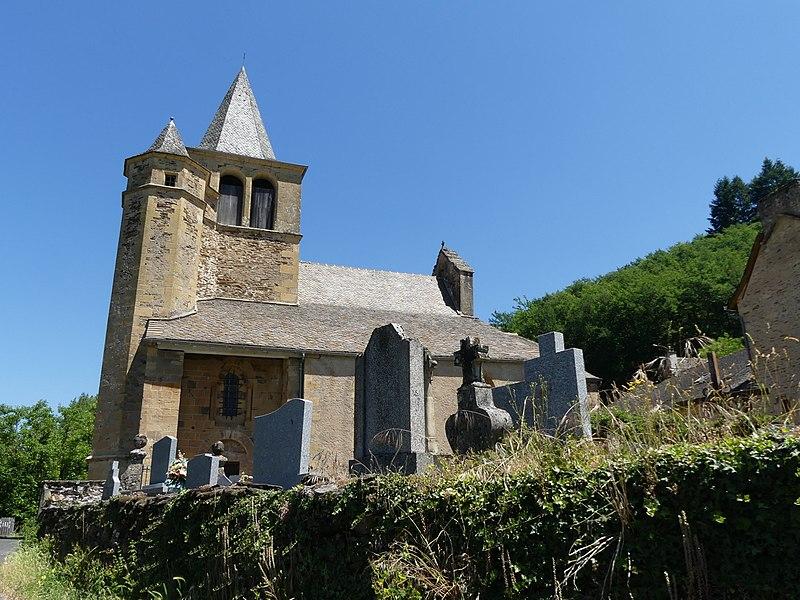 Photo du Monument Historique Eglise de Cambon situé à Castelnau-de-Mandailles