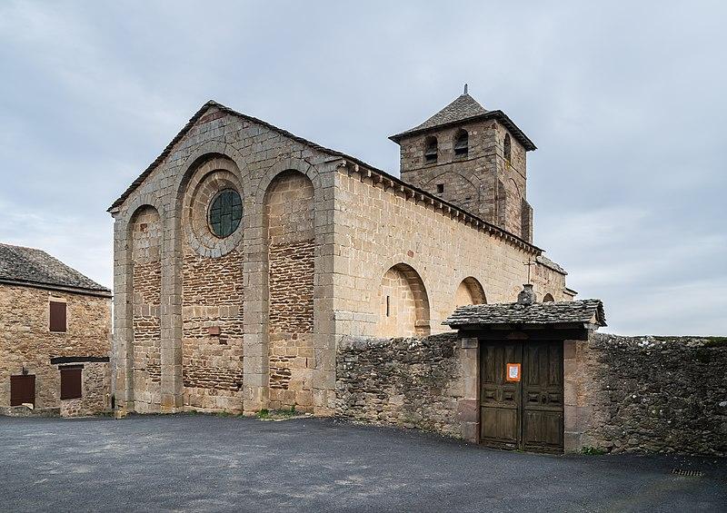 Photo du Monument Historique Eglise Notre-Dame situé à Castelnau-Pégayrols
