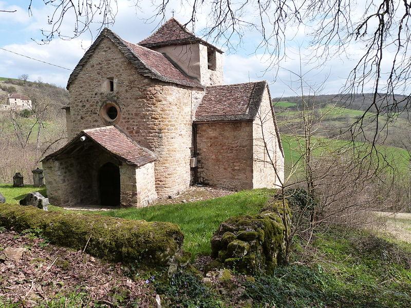 Photo du Monument Historique Eglise Saint-Clair situé à Causse-et-Diège