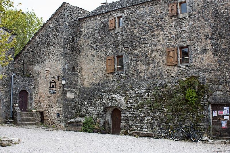 Photo du Monument Historique Presbytère situé à La Couvertoirade