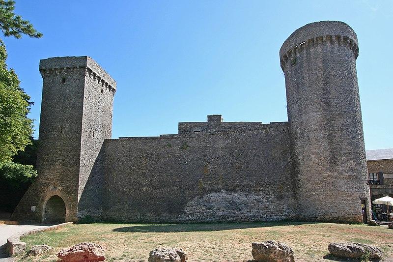 Photo du Monument Historique Anciens remparts situé à La Couvertoirade