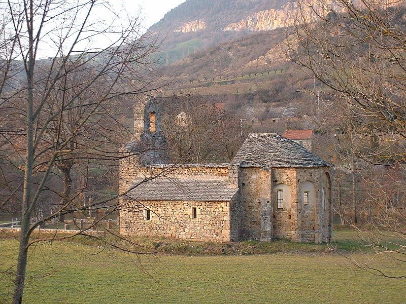 Photo du Monument Historique Ancienne église Saint-Martin situé à La Cresse