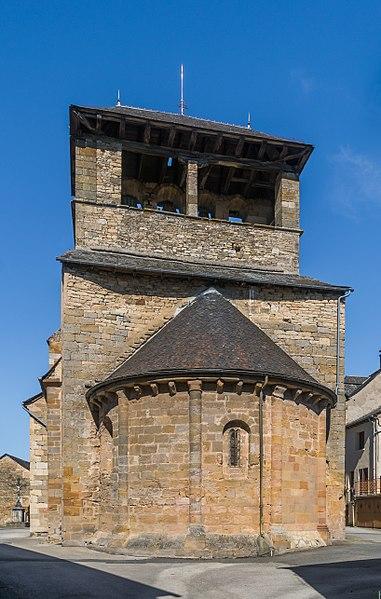 Photo du Monument Historique Eglise situé à Cruéjouls
