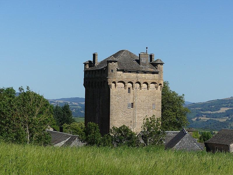 Photo du Monument Historique Château de Masse situé à Espalion