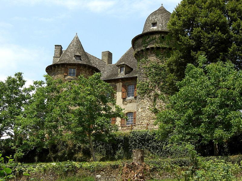 Photo du Monument Historique Château de Selves situé à Grand-Vabre