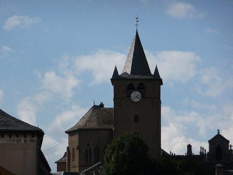 Photo du Monument Historique Eglise Saint-Matthieu situé à Laguiole