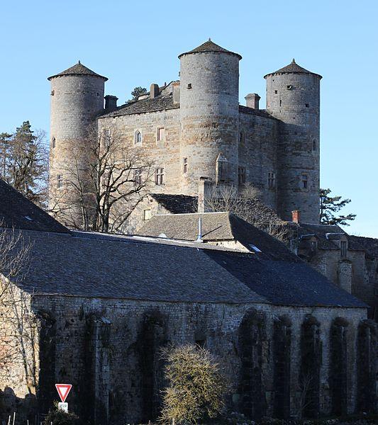 Photo du Monument Historique Château de Loupiac situé à Lapanouse