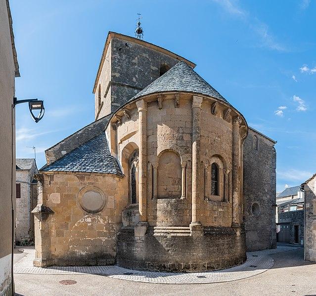 Photo du Monument Historique Eglise situé à Lapanouse