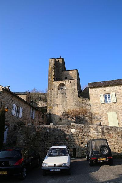 Photo du Monument Historique Eglise Saint-Grégoire situé à Lavernhe