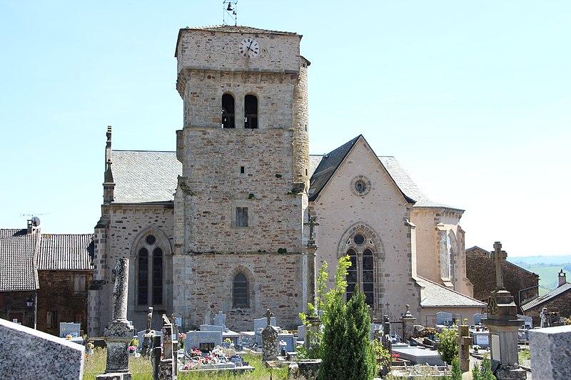Photo du Monument Historique Eglise situé à Martrin