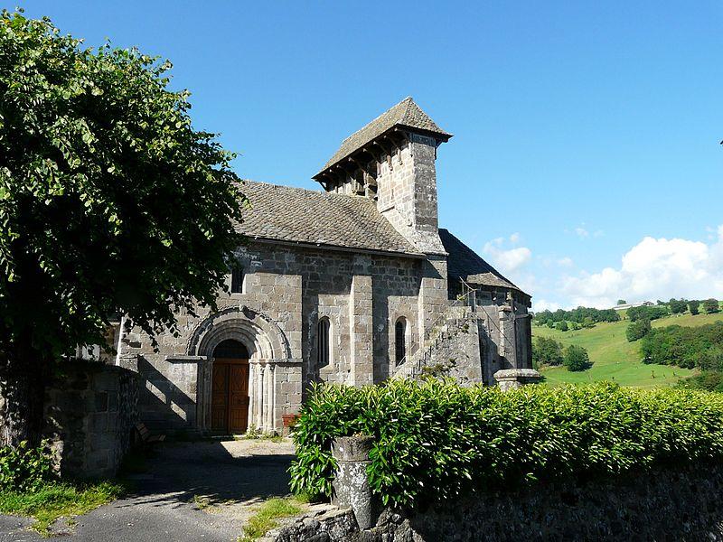 Photo du Monument Historique Eglise de Bromme situé à Mur-de-Barrez