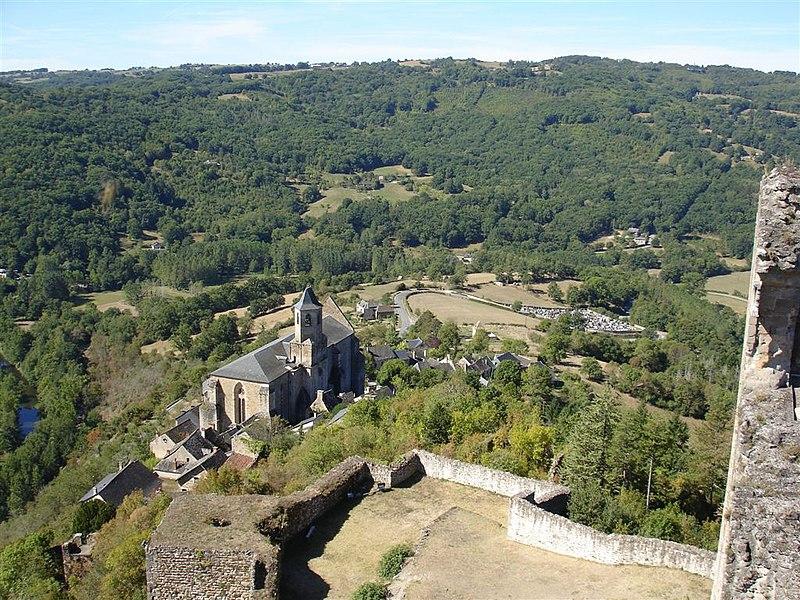 Photo du Monument Historique Eglise Saint-Jean situé à Najac