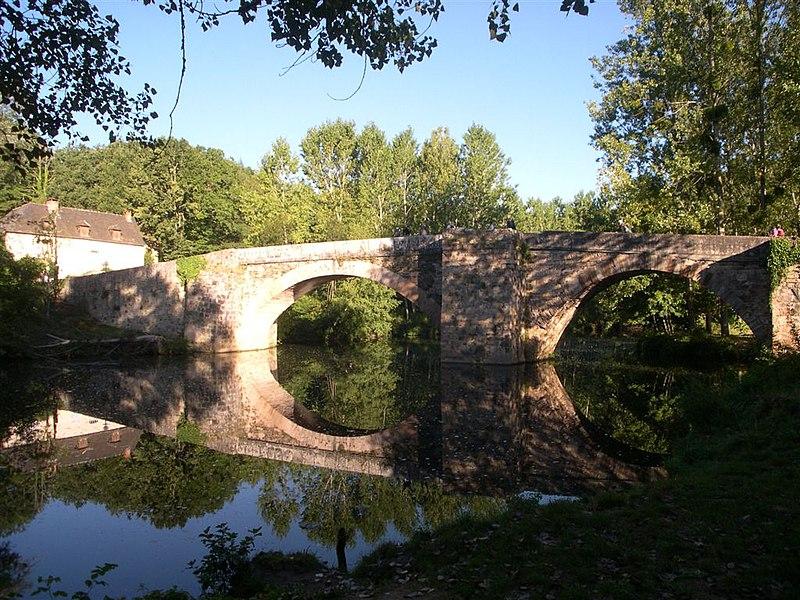 Photo du Monument Historique Pont Saint-Blaise situé à Najac