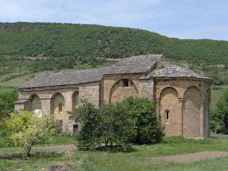 Photo du Monument Historique Ancienne chapelle de Saint-Martin-du-Vigan situé à Nant