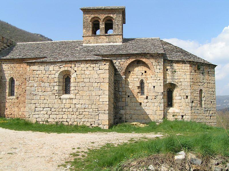 Photo du Monument Historique Ancienne église Sainte-Marie-des-Cuns situé à Nant