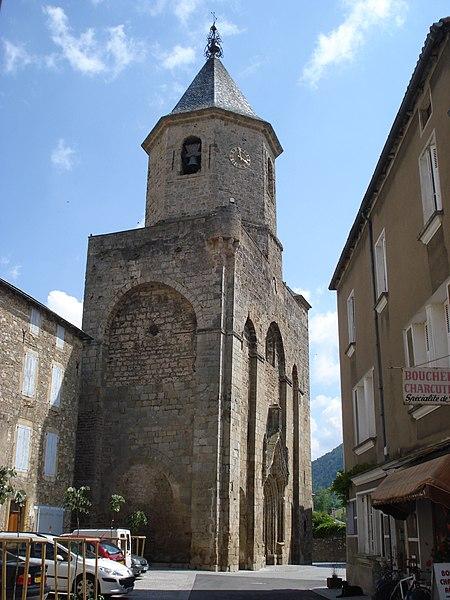 Photo du Monument Historique Eglise Saint-Pierre situé à Nant