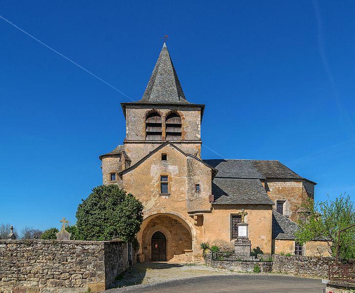 Photo du Monument Historique Eglise de Lagnac situé à Rodelle