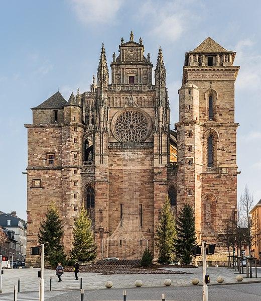 Photo du Monument Historique Cathédrale Notre-Dame situé à Rodez