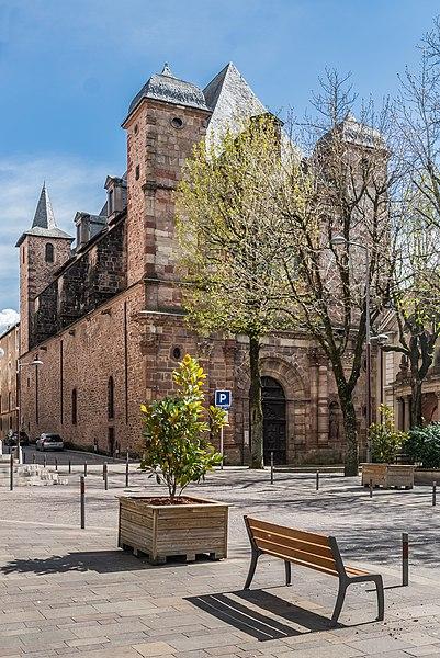 Photo du Monument Historique Ancien collège des Jésuites ou ancien lycée Foch situé à Rodez