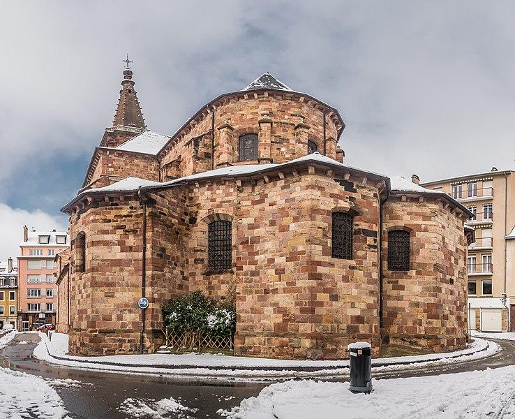 Photo du Monument Historique Eglise Saint-Amans situé à Rodez