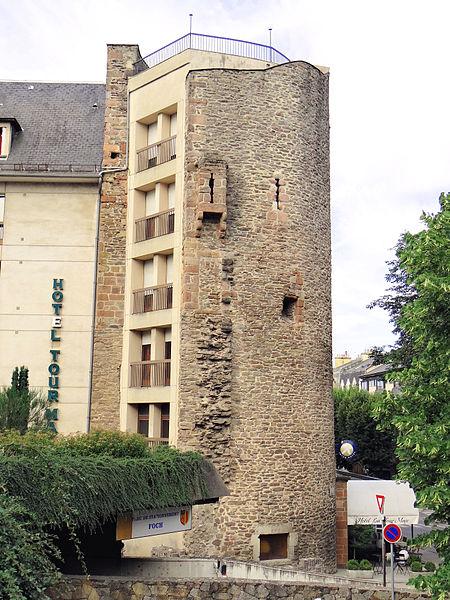 Photo du Monument Historique Hôtel du Cheval Noir situé à Rodez